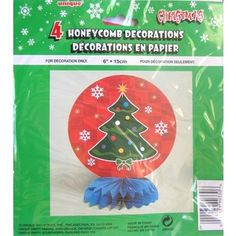Xmas Christmas Party Decorations - 4 Pack
