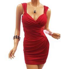 Ruched Clubwear Mini Dress