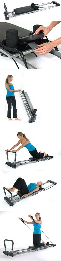 Stamina AeroPilates Performer 286 without Rebounder, Experience a challenging, shaping workout with the Stamina AeroPilates Performer 286. Lets you perform a variety of Pilates reformer exercises to build core and total body strength and to improve flex..., #Sporting Goods, #Cycling