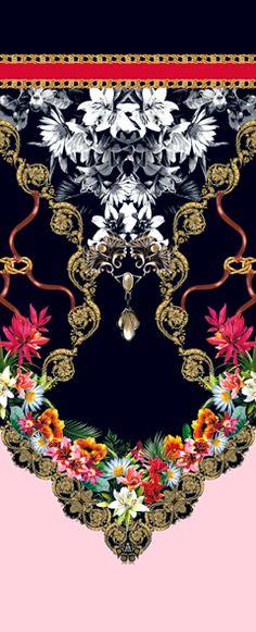 Fabric design by Adriana Barra,Brasil