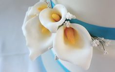 For this video tutorial I thought I would show you how I create calla lilies out of gumpaste to decorate your cakes. These are great to make to decorate bi