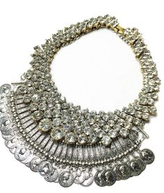 Love Me Gypsy Silver Statement Necklace