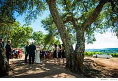 Boot Hill Ceremony - Ryan C Jones Photography #kundefamilyestate #weddingvenues