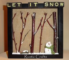 let it snow craft