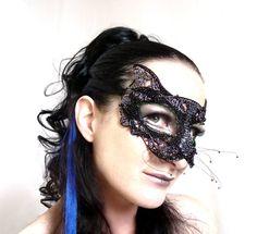 Black cat  mask, halloween