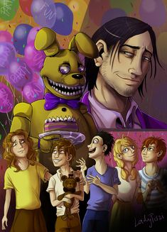 FNAF - Someone Lured Them Away In a Bunny Costume by LadyFiszi on DeviantArt