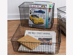 I just saw that they are remaking these vintage look baskets! SO wonderful :)