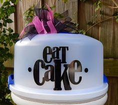 Cake Carrier Target Personalized Cake Carrierthejemzyboutique On Etsy$2400 Usd
