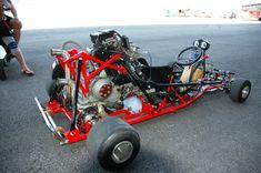Ducati powered Go Kart...jeez.