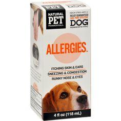 King Bio Homeopathic Natural Pet Dog - Allergies - 5 Oz