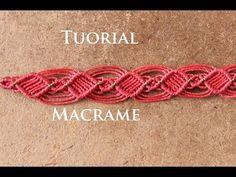 Easy Stripes Bracelet Tutorial | Macrame School - YouTube