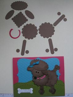 ,poodle punch art Stampin' Up!