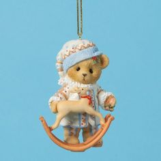 Bear With Reindeer Rocker Ornament Enesco http://www.amazon.com/dp/B00KCDT3AI/ref=cm_sw_r_pi_dp_Kwv4tb04CB9PA