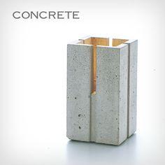 Candelero japonés de concreto