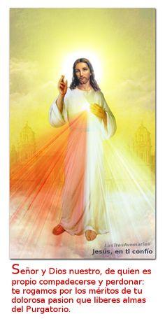 3 Hail Marys: para que descancen las benditas almas en el purgat...