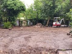 Site Clearance #landscaping #groundworks #gardendesign #englishgarden #gardendesigncheshire