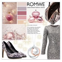 """Romwe 3."" by selmagorath ❤ liked on Polyvore featuring Tiffany & Co., Slate & Willow, women's clothing, women, female, woman, misses and juniors"