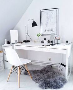 Ikea room ideas cozy home bedroom decor storage Ikea Room Ideas, Bedroom Ideas, Bedroom Inspo, Hack Ikea, Scandinavian Bedroom Decor, Scandinavian Style, Desks For Small Spaces, Small Rooms, Contemporary Office
