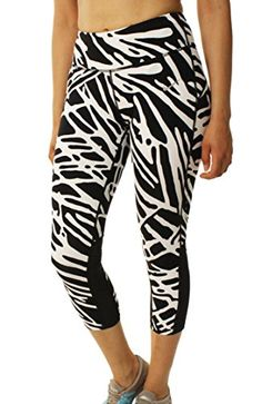 ec7ed6ef8134 Nike Womens DriFit Power Epic Lux Crop Running TightsBlackWhiteMedium    Continue to the product at the