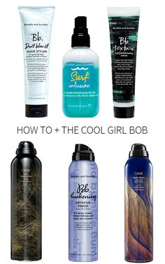 Whimsical Charm: how to + the cool girl bob Oblong Face Hairstyles, Messy Hairstyles, Summer Hairstyles, Pretty Hairstyles, Bumble And Bumble Surf Infusion, Messy Wavy Hair, Imperfection Is Beauty, Hair Brained, Hair Game