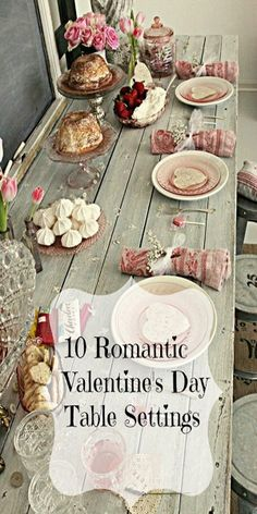 10 Romantic Valentine's Day Table Settings