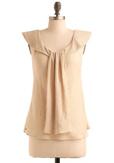 Really pretty, the 'Oracle of Style' top from Modcloth, $49
