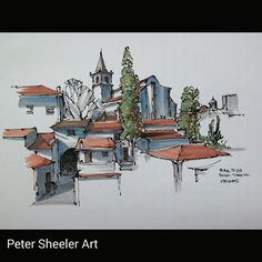 https://flic.kr/p/rzpyDL   Urban sketch. We've been on the road for a couple of…