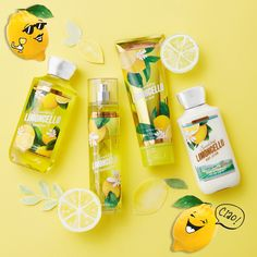 When life gives you lemons, make #Limoncello! NOW in Body Care!