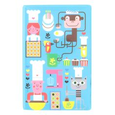 head chef design soft cover ruled notebook from Paperchase