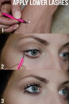 Tricks for making your eyes look huge!