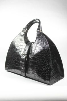 Extremely rare vintage black Neiman Marcus Italian made to order evening bag