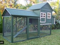 2014 New Weatherproof  Chicken Coop 2240*940*1430