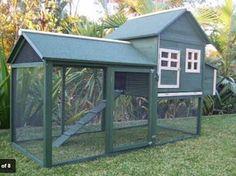 2014 New Weatherproof  Chicken Coop 2240*940*1430