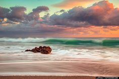 Wave Breaking along Shore at Coral Cove Park Beach Photos, Cool Photos, Martin County, Most Beautiful Beaches, Sunshine State, Commercial Photography, Palm Beach, The Help, Sunrise