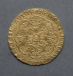Noble, 1422-1461 England, Henry VI, 1422-1461 (restored 1470-1471) gold