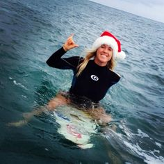 Merry CHRISTmas from Bethany Hamilton :) .......cute