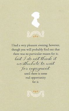 jane austen quote by Thereshedances, via Flickr