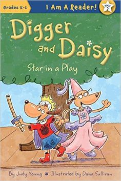 Star in a Play (I AM A READER!: Digger and Daisy) Paperback ** Follow me on www.MommasBacon.com **