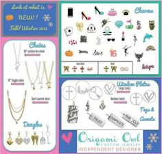 Check out all the new jewelry!!! Order on-line today @ www.alaskacharmed.origamiowl.com
