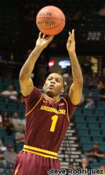 Carsons Pac-12 Tournament Freshman Record Leads ASU to OT Win Over Stanford