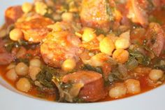 Rita's Best Recipes: Hearty Chorizo and Chickpea Stew