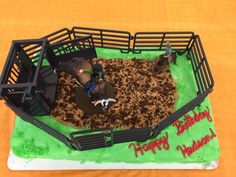 Rodeo birthday cake Kayleas cake she made for Hudsons 6th