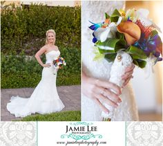 The Turtle Club | Naples Wedding Photographer | Jamie Lee Photography | Christie's Flowers and Gifts | Tropical Bouquet with Charms