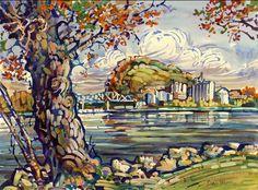 Dan Wiemer :: Watercolor / Acrylic Artist, Red Wing MN