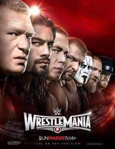 Photo: New WWE WrestleMania 31 Poster Released: Sting, Undertaker, Brock Lesnar & More Featured | PWMania