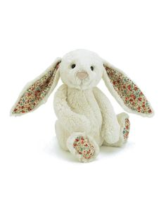 JELLYCAT | Medium Cream Bashful Bunny Blossom | Learning and Playtime | kinderelo.co.za