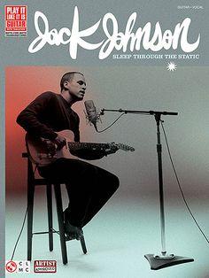 Jack Johnson: Sleep Through The Static - Guitar Tab. £14.95