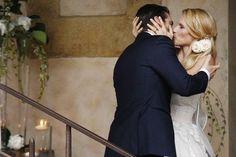 Il primo bacio da marito e moglie