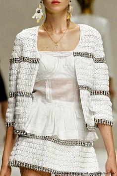 Dziana Moda: Szydelkowa kolekcja 2011 Dolce & Gabbana