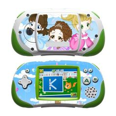 Little Princesses Design Protective Decal Skin Sticker for LeapFrog Leapster Explorer Learning Tablet by MyGift. $12.99. Unique channeled adhesive used on this skin decal keeps it easy to apply and fully removable while sticky residue after removal.. Little Princesses and Castle art-quality design.. The slim-fit design keeps the LeapFrog Leapster Explorer compatible with most cases and accessories. It IS NOT a hard case cover / faceplate.. Covers the front and back of your Lea...